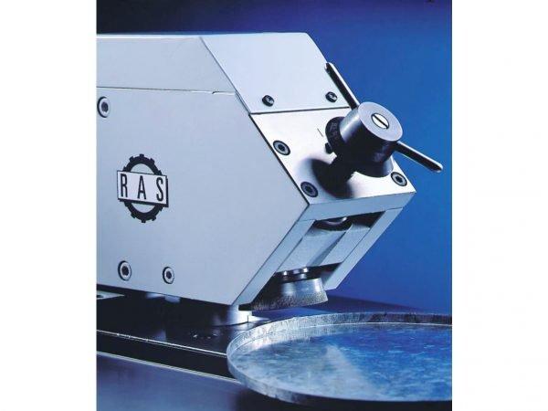 RAS Flanging Machine closeup