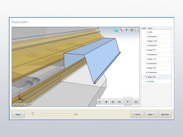 RAS XL Center simulation