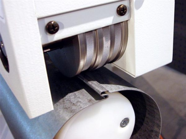 RAS Seam Closing Machine close up