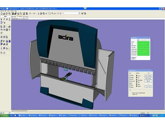 Hydraulic Press Brake Software